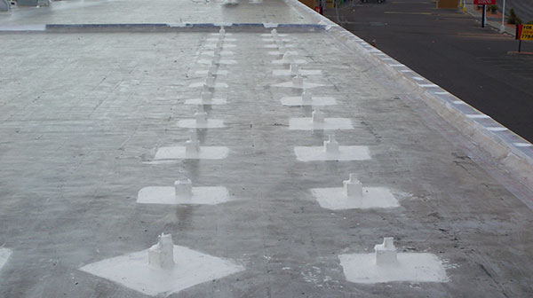 Course Roof Pitch Pockets