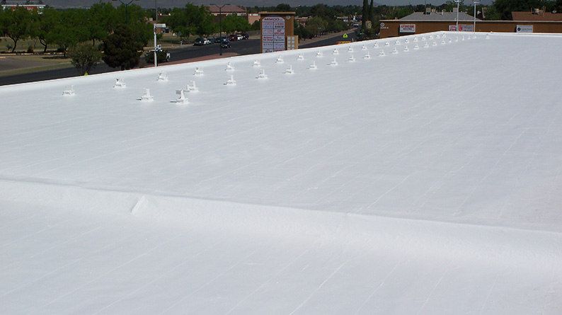 existing metacrylics roof