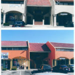 Shopping Center Tile Job Before & After