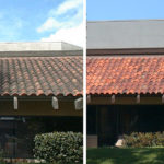 before and after tile roof