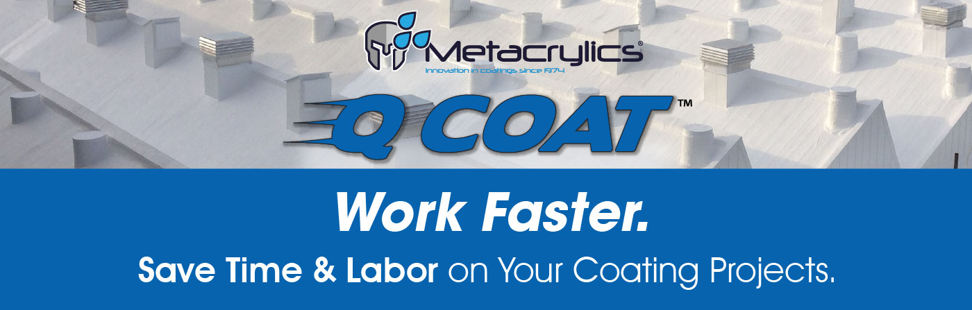 Q Coat. Work faster. Save time and labor on your coating projects.